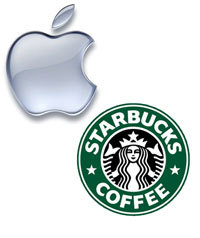 Apple at Starbucks