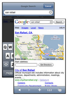 Google optimizes search results on iPhone and Android