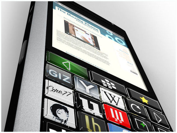 OLED Concept Mobile Phone + Blackberry
