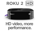Roku 2 HD Streaming Player