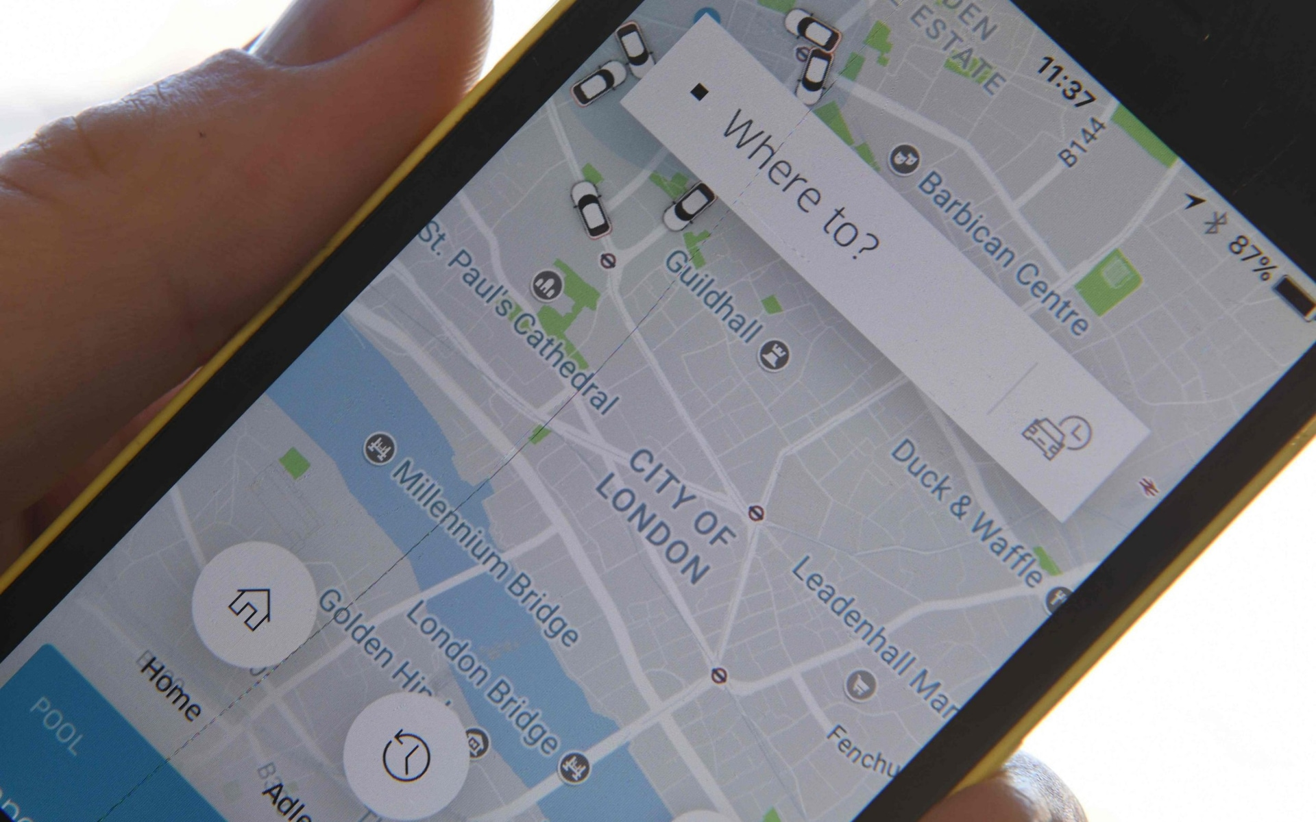Uber faces fines in the UK over cover-up of 57m stolen user details